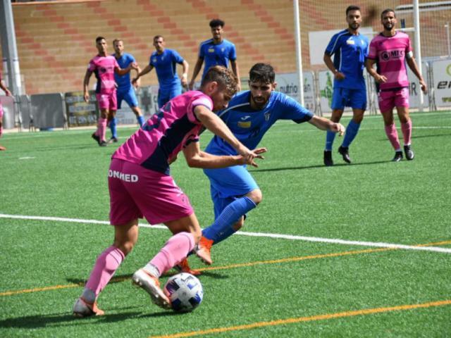 Una jugada del Villarrubia-Linares