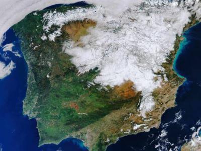 VIRAL | ¿Ubicas Talavera en esta espectacular imagen tras la nevada?