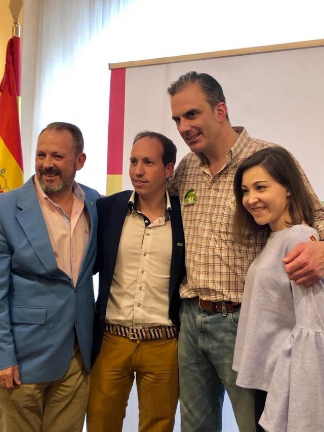 El candidato de Vox a la Presidencia de C-LM, Daniel Arias, en una foto de archivo