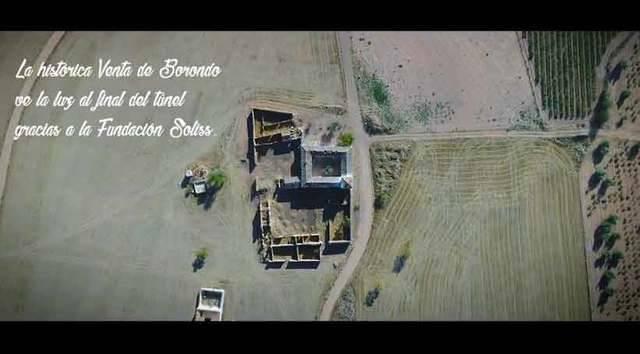 La Venta de Borondo inicia su recuperación gracias a la Fundación Soliss (VÍDEO)