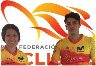 Dos talaveranos, representantes de la selección Española en las pruebas de BMX Racing