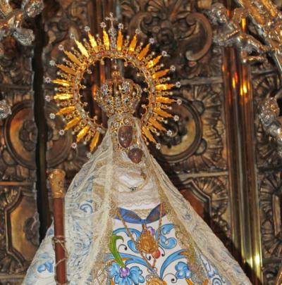 El arzobispo pide rezar a la Virgen del Prado para poner fin a la pandemia