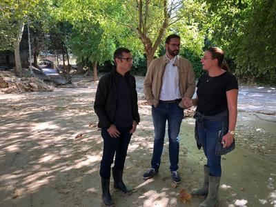 Sergio Gutiérrez pide colaboración para evitar que la riada de Cebolla vuelva a ocurrir