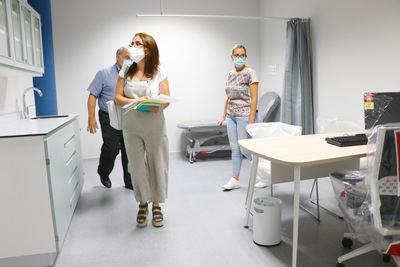 SANIDAD | Visitas al nuevo Hospital de Toledo