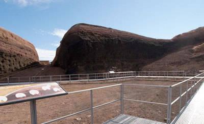 El museo-volcán 'Cerro Gordo' logra 8.000 visitas en seis meses