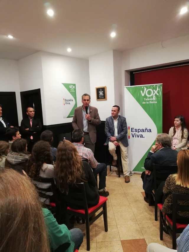 Vox, de 'Cañas por España' en Talavera