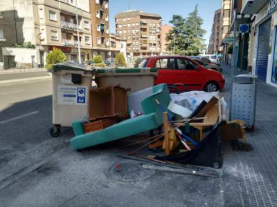 TALAVERA   Investigación por los muebles y enseres abandonados en la ciudad