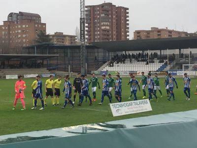 El CF Talavera y el CD Toledo empatan en el Municipal 'El Prado'