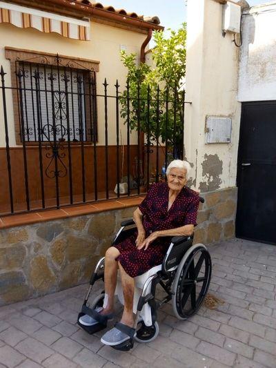 Julia Toledano, la vecina de Navalmoralejo que celebra su 102 cumpleaños