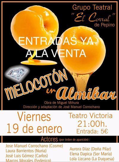 """Noche de función en el Teatro Victoria: """"Melocotón en Almibar"""""""