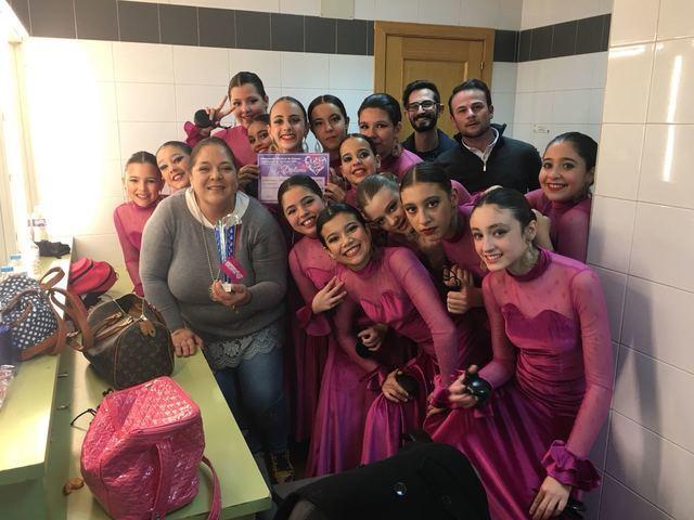 """La escuela de Carmen Sánchez """"Triana"""" consigue el tercer premio en el Campeonato Nacional de Danza"""