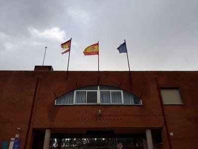 Preocupante situación del colegio de Los Navalmorales por falta de mantenimiento