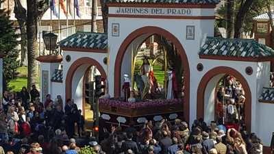 Talavera inicia las procesiones con la de la Comarca y el Domingo de Ramos