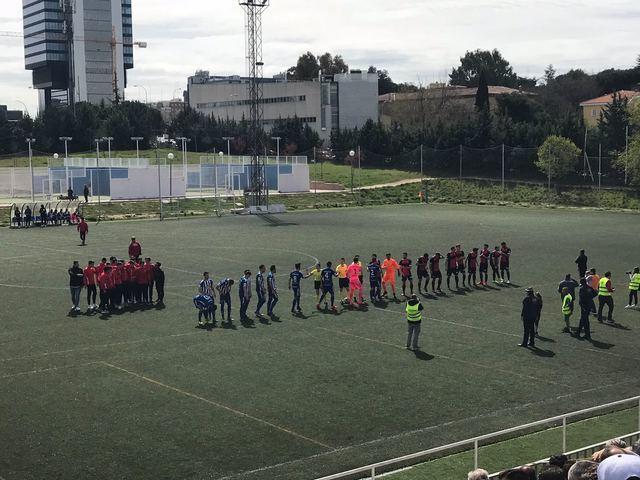 El CF Talavera lucha -pero no vence- en el Vicente del Bosque