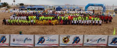 Importante representación talaverana en la Copa de España de Fútbol Playa