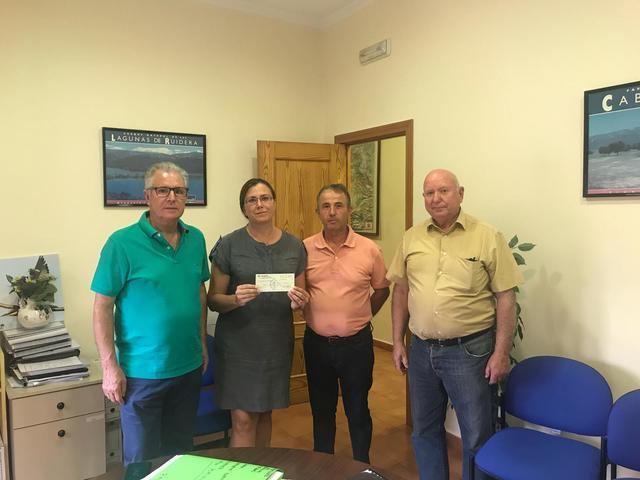 Santa Ana de Pusa recauda dinero para donarlo a la localidad de Cebolla