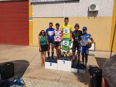 Emocionante segunda etapa de la Vuelta Ciclista a Talavera