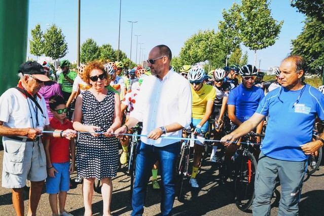Homenaje a Doroteo García Jerónimo en la última etapa de la Vuelta