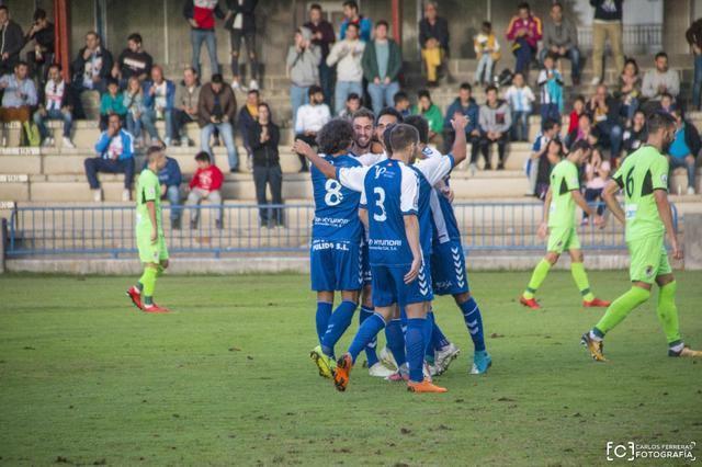 Las imágenes de la goleada del CF Talavera al CD Badajoz