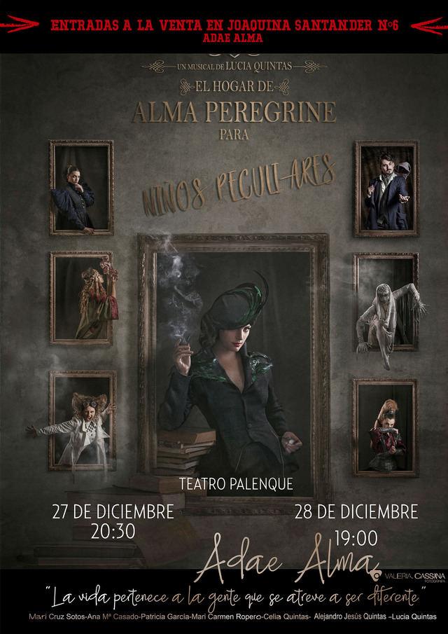 Adae Alma vuelve a los escenarios este mes de diciembre con un musical