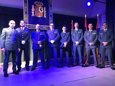 Alberche rinde homenaje a los Cuerpos y Fuerzas de Seguridad del Estado