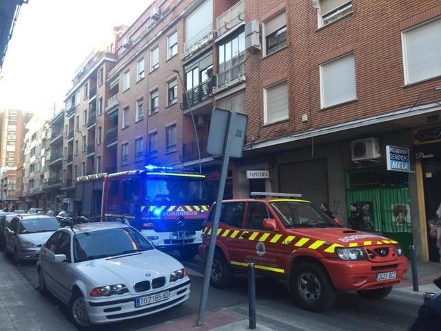 Susto en la talaverana calle Joaquina Santander