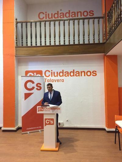 El talaverano Gustavo de las Heras, candidato de Ciudadanos a las elecciones autonómicas