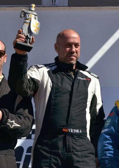 Víctor Álvarez, segundo en el arranque del Campeonato de España de Autocross