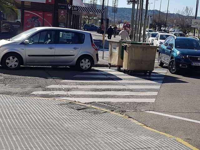 Peligro de atropello en la Avenida Pablo Picasso de Talavera