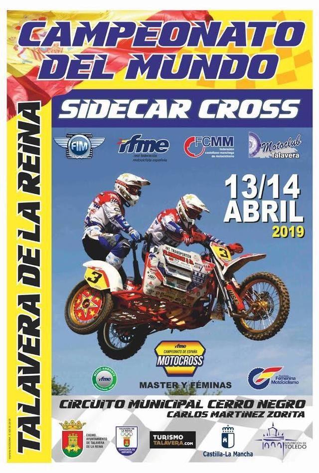 Comienza la cuenta atrás para disfrutar del Campeonato del Mundo de Sidecar en Talavera