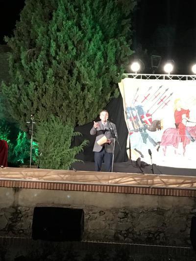 Magistral pregón del talaverano Roberto Brasero en las Jornadas Medievales de Oropesa
