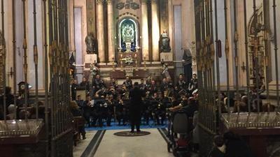 Lleno en la Basílica para disfrutar del Certamen de Bandas 'Ciudad de Talavera'