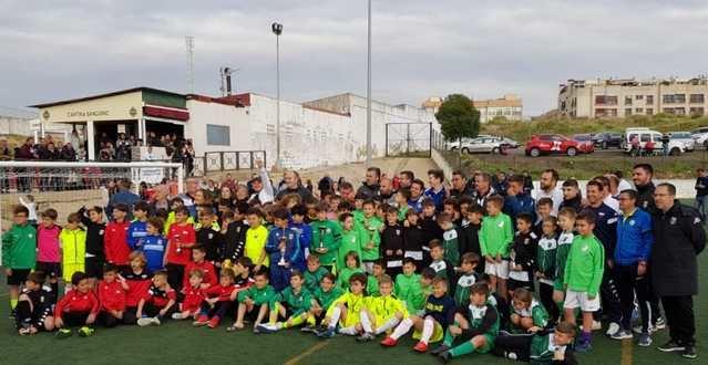 Éxito total en Extremadura del fútbol base talaverano