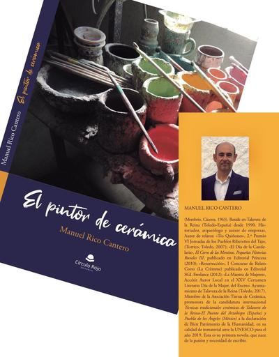 Talavera presenta el libro 'El pintor de cerámica', de Manuel Rico Cantero