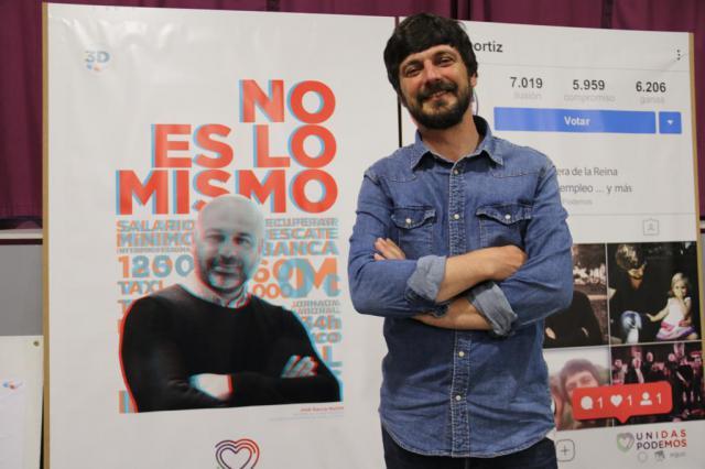 Ortiz: 'Desde Unidas Podemos miramos a Talavera desde otra óptica, llena de ilusión y de optimismo'