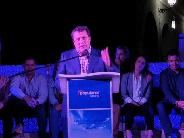 El PP de Segurilla cierra la campaña electoral con la visita de José Julián Gregorio