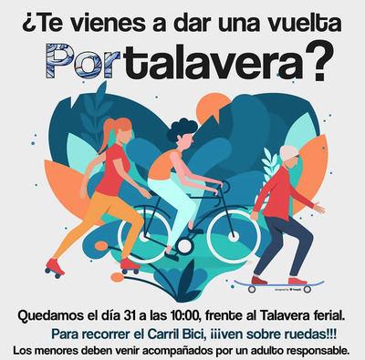Xtalavera propone una ruta para celebrar el Día de la Bicicleta