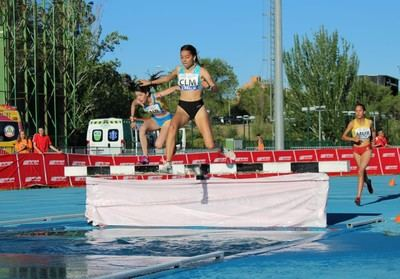 Lucía Valdesoiro, 5º en el Campeonato de España SUB16 de 1500m obstáculos