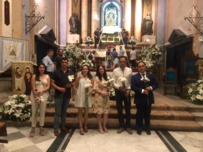 NNGG acude a su cita anual con la Virgen del Prado