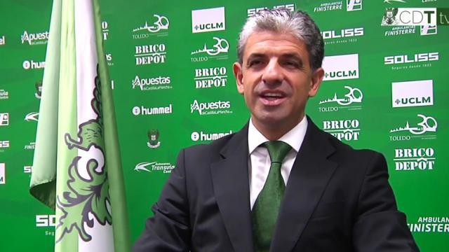 FÚTBOL | Juan Juárez el presidente del CD Toledo dimite