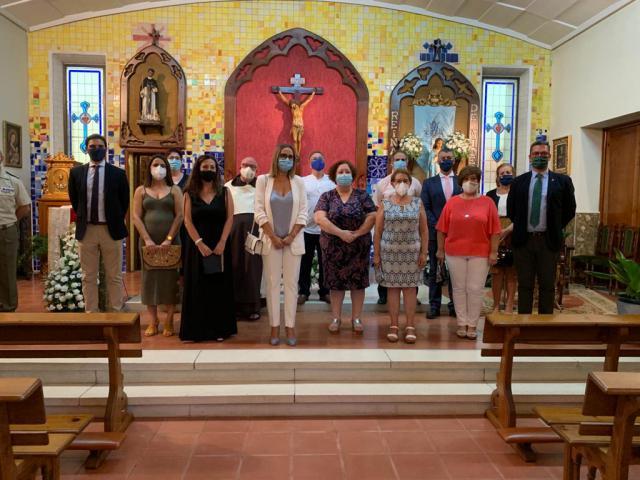 FOTONOTICIA | Misa en honor a la patrona del barrio de Santa María