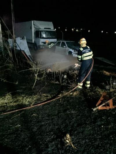 SUCESOS | Incendio en una finca de El Casar de Escalona