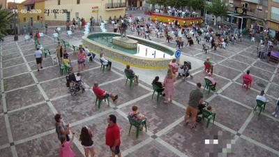 CAZALEGAS | Homenaje a las víctimas y héroes del Covid