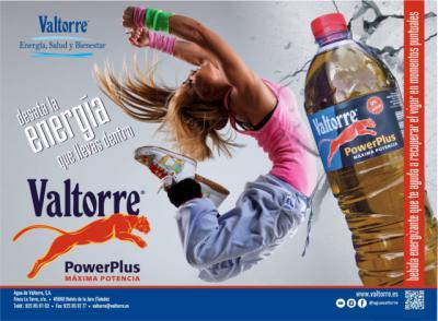 VALTORRE | Descubre 'Power Plus', la nueva bebida energética