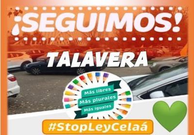 TALAVERA | Nueva manifestación contra la Ley Celaá