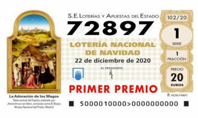 ÚLTIMA HORA | Sale 'El Gordo': 72.897