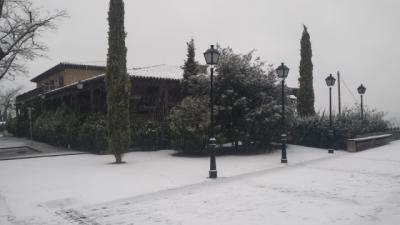IMÁGENES | Toledo amanece cubierta de blanco