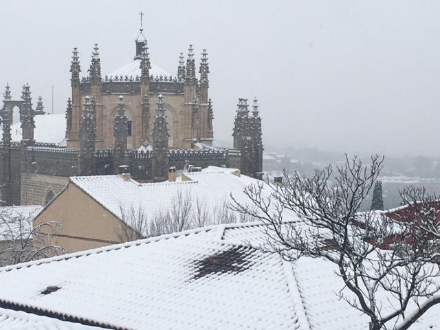 FILOMENA   La nieve deja 152 incidencias en CLM, 105 de ellas en Toledo