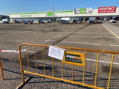 TALAVERA | Parque Comercial El Golf reduce el aforo de su aparcamiento por la covid-19