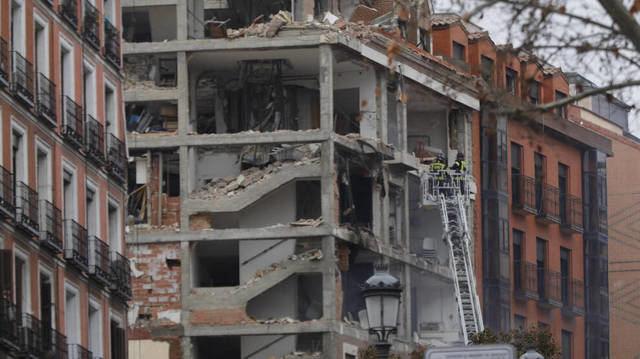 ÚLTIMA HORA | Aumentan a cuatro los fallecidos en la explosión de un edificio en Madrid